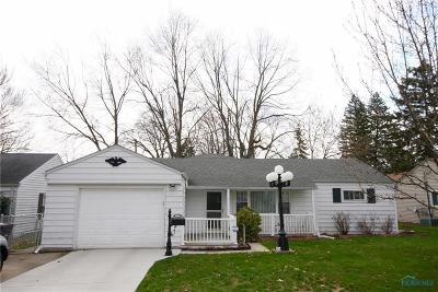 Toledo Single Family Home For Sale: 4171 Crary Drive