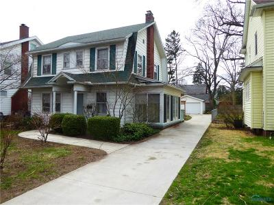 Toledo Single Family Home For Sale: 2129 Brookdale Road