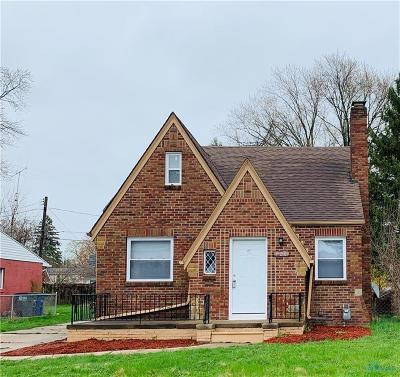 Toledo OH Single Family Home For Sale: $74,900