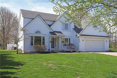 Perrysburg Single Family Home Contingent: 1850 Sagebrush Court