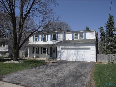Maumee Single Family Home Contingent: 605 Dussel Drive
