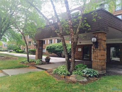 Ottawa Hills, Monclova, Oregon, Rossford, Swanton, Berkey, Metamora, Lyons, Whitehouse, Waterville Condo/Townhouse For Sale: 4343 W Bancroft Street #3C