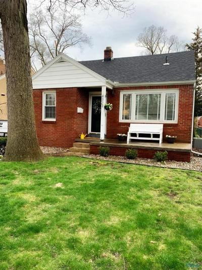 Single Family Home For Sale: 4323 Woodmont Road