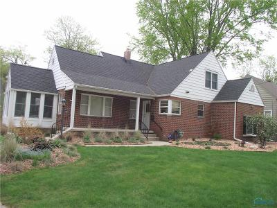 Sylvania Single Family Home Contingent: 6808 Rosewood Place