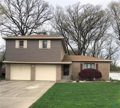 Rossford Single Family Home For Sale: 314 Hawthorne Lane
