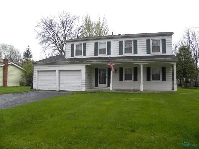 Maumee Single Family Home Contingent: 508 Dussel Drive