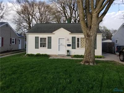 Maumee Single Family Home For Sale: 1222 Hugo Street