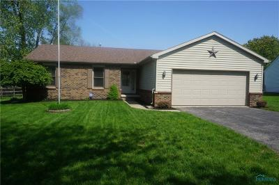 Toledo Single Family Home For Sale: 2142 Willowhill Lane