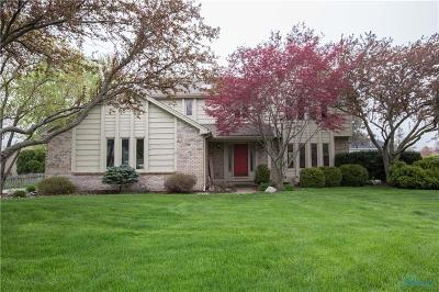 Perrysburg Single Family Home For Sale: 9900 Sedgefield Road