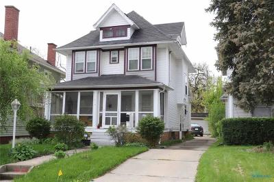 Toledo Single Family Home For Sale: 617 Tennyson Place