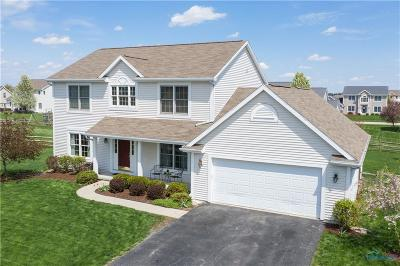 Perrysburg Single Family Home Contingent: 14650 Saddlebrook Court