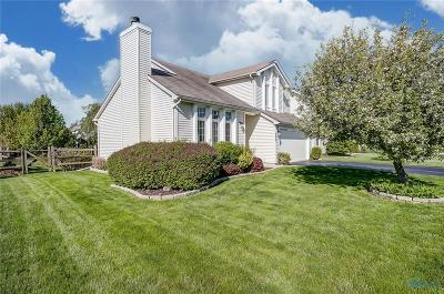 Perrysburg Single Family Home Contingent: 895 Little Creek Drive