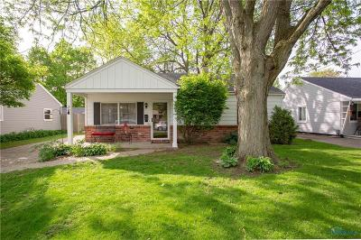 Maumee Single Family Home Contingent: 684 Southfield Drive