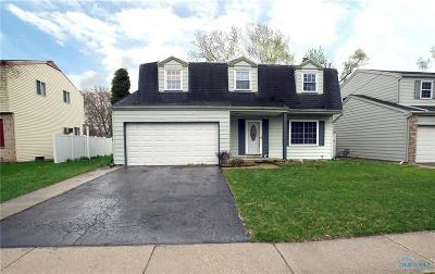 Sylvania OH Single Family Home For Sale: $155,000