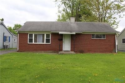 Maumee Single Family Home For Sale: 4419 Thackeray Road