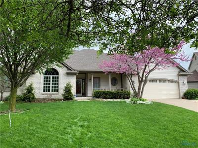 Maumee Single Family Home Contingent: 6736 West Meadows Lane