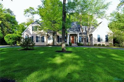 Ottawa Hills, Monclova, Oregon, Rossford, Swanton, Berkey, Metamora, Lyons, Whitehouse, Waterville Single Family Home For Sale: 4614 Brookside Road