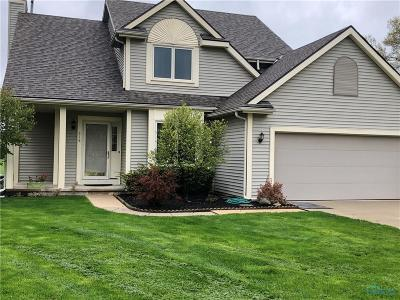 Perrysburg Single Family Home Contingent: 818 Streamview Drive