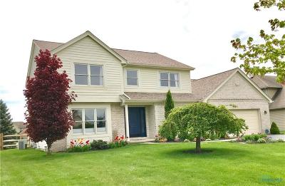 Maumee Single Family Home For Sale: 7647 Pilgrims Landing