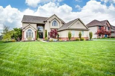 Perrysburg Single Family Home Contingent: 25509 Wood Creek Road