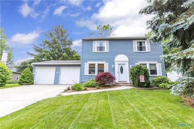 Maumee OH Single Family Home Contingent: $169,900