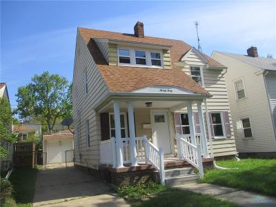 Toledo OH Single Family Home Contingent: $79,900