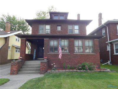 Toledo Single Family Home Contingent: 4333 Lowe Road