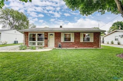 Maumee OH Single Family Home Contingent: $127,000