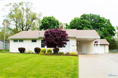 Toledo Single Family Home For Sale: 5952 Whiteacre Road