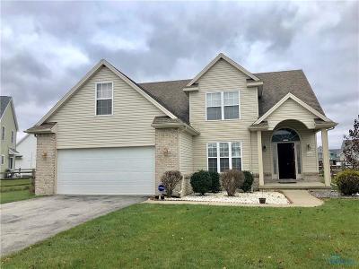 Perrysburg Single Family Home For Sale: 12221 Jefferson Street