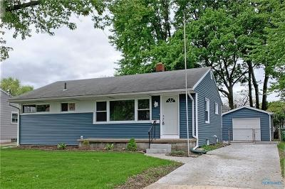 Maumee Single Family Home For Sale: 1101 Hunt Street