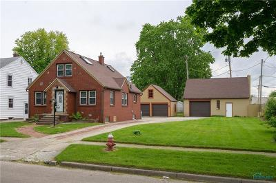 Single Family Home For Sale: 4018 Garrison Road