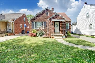 Toledo OH Single Family Home For Sale: $140,000