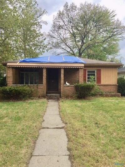 Toledo Single Family Home For Sale: 6650 Hill Avenue