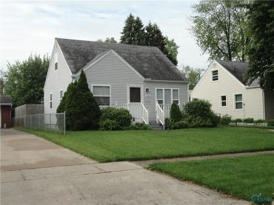 Toledo Single Family Home For Sale: 3141 Winston Boulevard