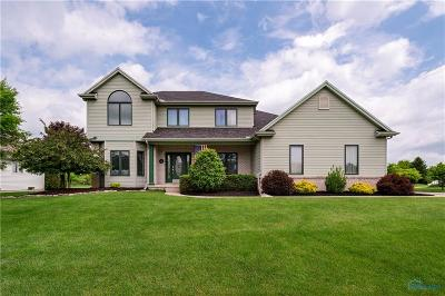 Maumee Single Family Home Contingent: 6568 Buck Creek Drive