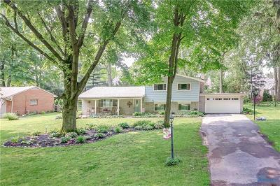 Sylvania Single Family Home Contingent: 4637 Crestview Drive