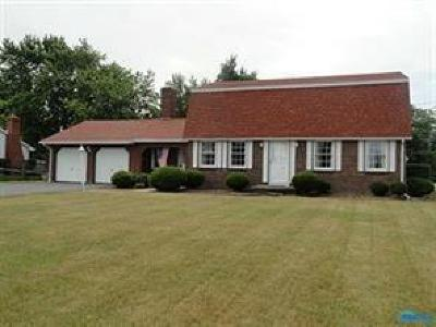 Perrysburg Single Family Home For Sale: 10427 Five Point Road