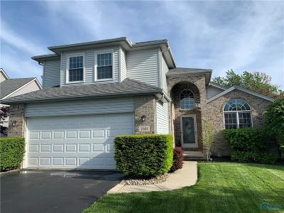 Perrysburg Single Family Home For Sale: 7081 Twin Lakes Road