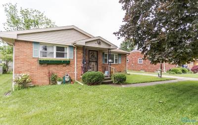 Toledo Single Family Home For Sale: 5449 Suder Avenue