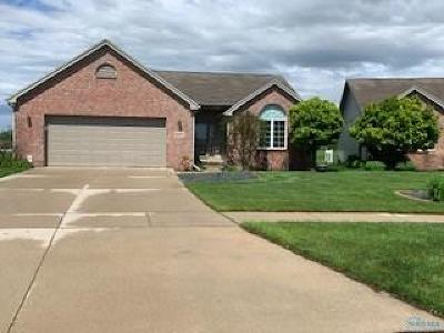 Perrysburg Condo/Townhouse For Sale: 10036 N Shannon Hills Drive