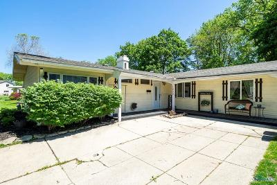 Maumee Single Family Home Contingent: 1230 Elco Avenue