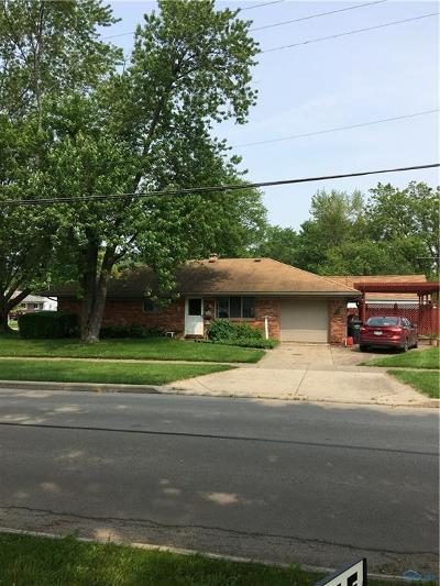 Maumee OH Single Family Home Contingent: $79,900