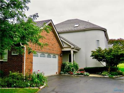 Perrysburg Condo/Townhouse For Sale: 9610 Sheffield Road