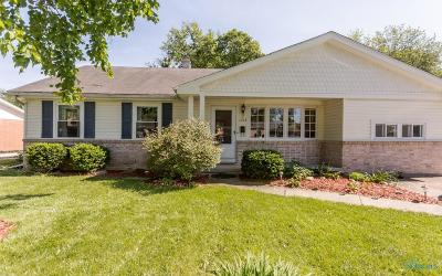 Maumee OH Single Family Home Contingent: $124,900