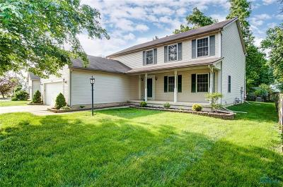 Perrysburg Single Family Home Contingent: 2490 McKinley Drive
