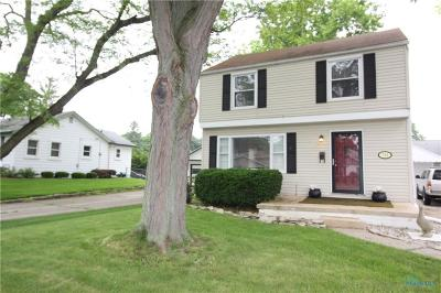 Maumee Single Family Home Contingent: 724 Corey Street