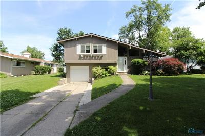 Maumee OH Single Family Home Contingent: $174,900