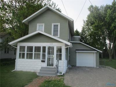 Swanton OH Single Family Home For Sale: $114,900