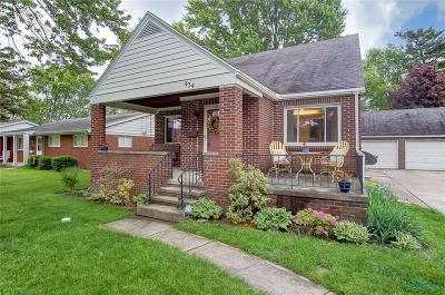 Perrysburg Single Family Home For Sale: 434 W 7th Street